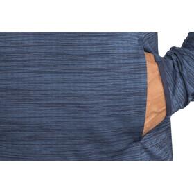 Craft M's Grid Halfzip Midlayer Maritime Melange